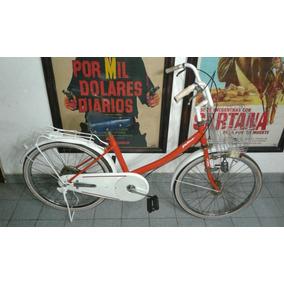 Antigua Bicicleta Dama Pebo India De Colección Restaurada.