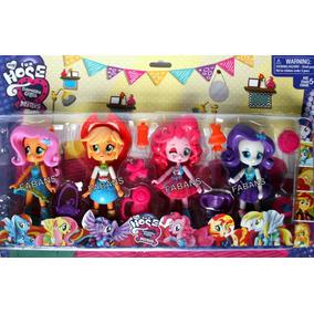 Set Muñecas My Little Pony Equestria Girl Mini Juguetes Niña