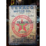Cajón Antiguo De Aceite Texaco U.s.a. 27052