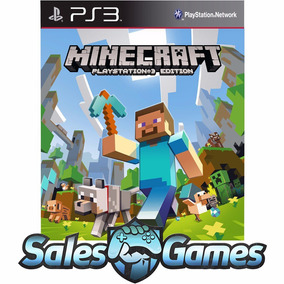 Ps3 Minecraft Playstation Edition Português Psn