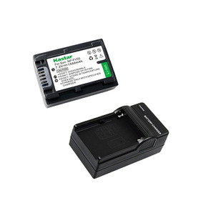 1 Bateria Y 1 Cargador Np-fv50 Para Sony Vg30h, Dcr-sr15