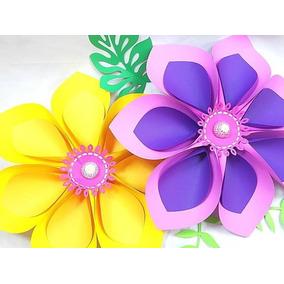 molde flores gigantes artesanato no mercado livre brasil