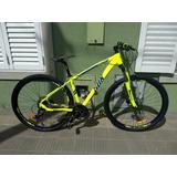 Bicicleta Mtb Sbk R29 New Port 27vel Shimano Disco Hidra