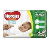 Huggies Active Sec Etapas 1 Pack 150 + Obsequio