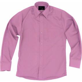 Camisa Vestir Para Adulto Palo De Rosa Tallas Extras 44 A 50