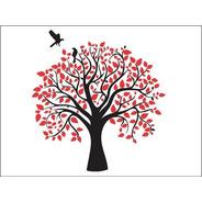 Árvore Decorativa Em Mdf Adesivo P/ Parede 60 Cm Lançamento