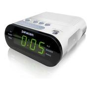 Radio Reloj Despertador Panacom Cr3402 Am/fm Alarma Doble