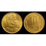 Moeda De 10 Pesos Do Chile