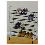 Sapateira Para 30 Pares De Sapato Em Aço Cromado Melhor Q 40