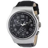 Reloj Swatch Irony Chrono Su Vuelta Hombre Negro # Yos440