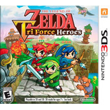 Nuevo Y Sellado The Legend Of Zelda Triforce Heroes