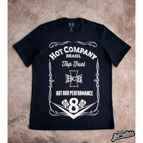Camiseta Hotrod Jack Daniels Hcb
