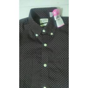 Camisa Dockers Original Color Vino Obscuro, Standard Fit