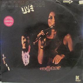 Lp Sonny E Cher Live Cap. G Lp. Ex