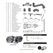 Kit Turbo D10 D20 Veraneio Bonanza Perkins Q20b 4236