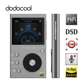 Dap Player Mp3 Dodocool Hi-res Hifi Dac Dsd Dual-core Fm 8gb