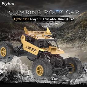 2.4g 4wd De La Unidad De Rc Coche Vehículo Flytec 9118 1:18
