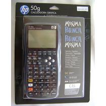 Calculadora Gráfica Hp 50g C/manual E Capa Melhor Preço !!!!