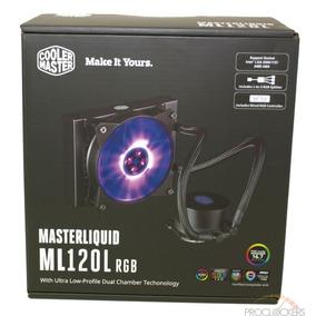Water Cooler Ml120l Led Rgb P/ 775 1150 1155 Fm2 Am2 Am3