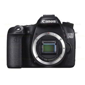 Câmera Canon Dslr Eos 70d Corpo