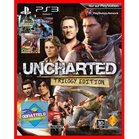 Uncharted 1 2 E 3 Ps3 Código Psn Original Envio Agora