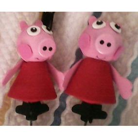 Figura De Fomy - Goma Eva - Fofucha Peppa Pig Mini Con Lapiz