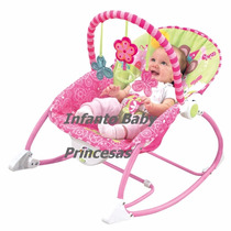 Cadeira Cadeirinha Bebê Descanso Vibratória E Balanço Baby