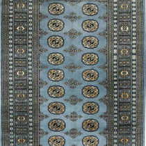 Alfombra / Tapete Handmade Afghan Bokhara Rug, Slate, 41 X6