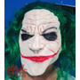 Mascaras Latex Premium Mascara Guasón Jocker Con Pelo Verde