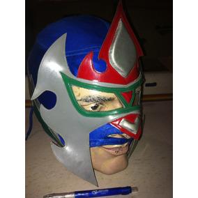 Mascara Antigua De Lucha Libre De Colección.
