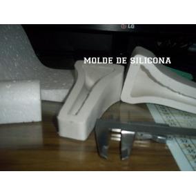 Molde De Caucho De Silicona Para Tacos De Zapato De 10cm