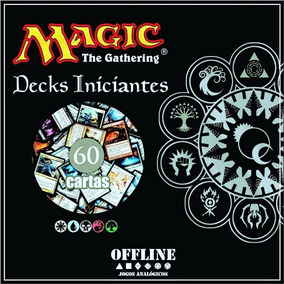 Deck Magic Iniciante + Manual Regras Básicas - Português