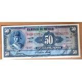 Billete Banco De México $50 Pesos 1959 X Ignacio Allende