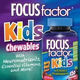 Focus Factor Kids Nutrición Para El Cerebro Niños