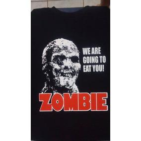 Camiseta Zombie Filme Terror Zumbi The Walking Dead