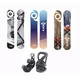 Tabla De Snowboard Kano /3 Medidas + Fijaciones
