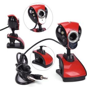 Usb Webcam Web Cam Cámara Micrófono Para Computadora Pc