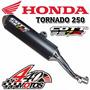 Escape Deportivo Cott Honda Tornado 250 Motos440!!!
