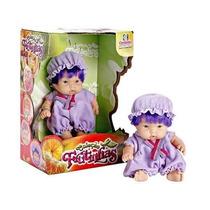Boneca Coleção Frutinhas Uva Brinquedo Cotiplás