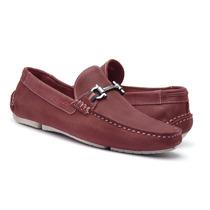 Sapato Mocassim Masculino Em Nobuck Jcl 26252 Di Pollini