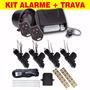 Kit Alarme Automotivo Fks Fk902 Sb+ Trava 4 Portas Universal