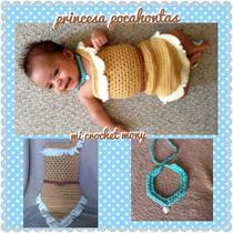 Vestido Tejido Princesa Pocahontas