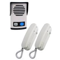 Porteiro Eletrônico Agl Com Dois Interfones P-200 Antigo P20