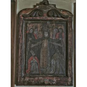 Retablo Antiguo De La Virgen De La Merced