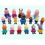 Peppa Pig Família E Amigos Coleção 18 Bonecos