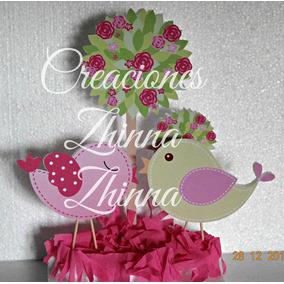 C.zhinna Cotillon Centro Mesa Adonro Pajaritos 1 Año