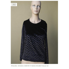 Saco Saquito Sweater Chaleco Mujer Feria Americana Negro M