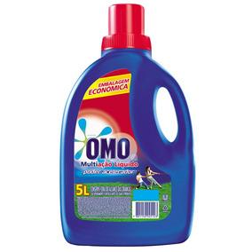 Detergente Líquido 5l Omo Multiação Com Poder Acelerador