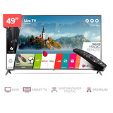 Tv Led 4k Lg 49uj6560 49 Smart / Hdr