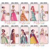 Capa Capinha Celular Princesa Vestido Luxo Linda Galaxy